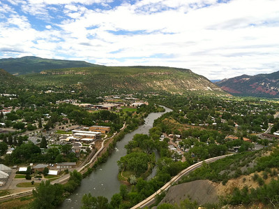 View of Durango from Fort Lewis College