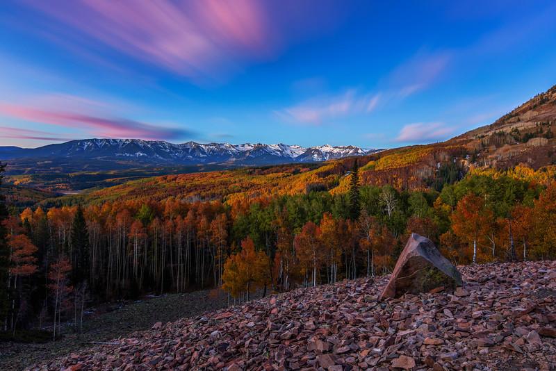 Fall Color Sunrise