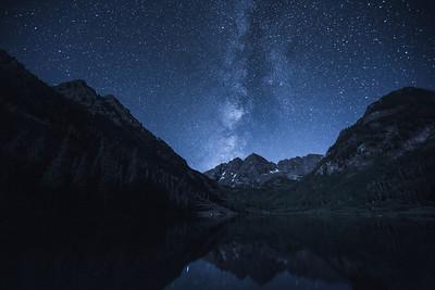 Maroon Bells Milky Way