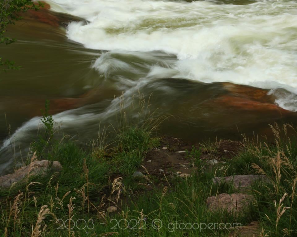 """River Flow""<br /> Clear Creek<br /> Golden, Colorado"