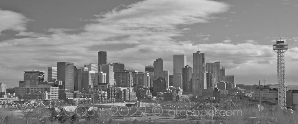 """Denver in Black and White""<br /> Denver, Colorado"