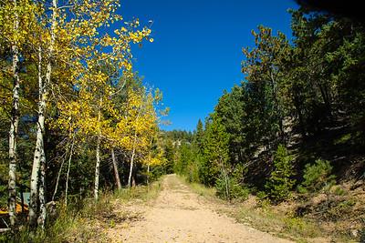 Walking trail near in Morrison , CO