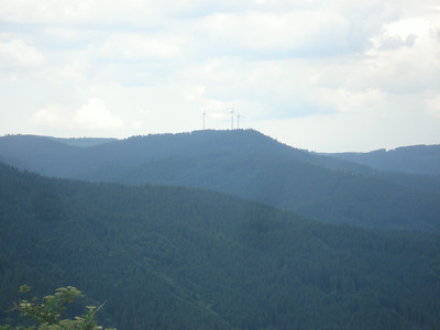 Wind power in Schwarzwald