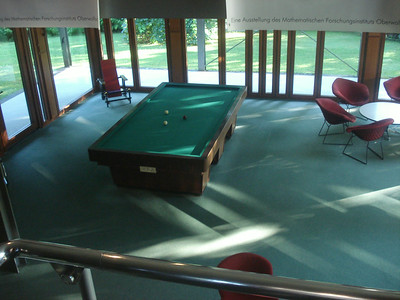 Oberwolfach library carom table