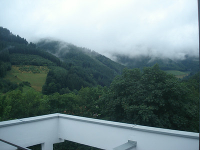 Deep clouds over Schwarzwald