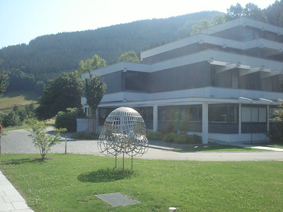 Oberwolfach main building and Boy's surface