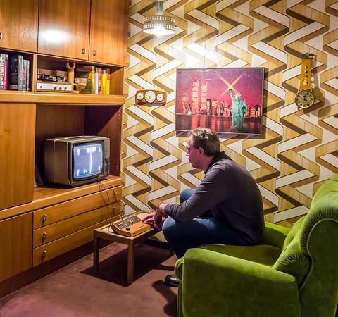 70s gaming room in Computerspielemuseum, Berlin
