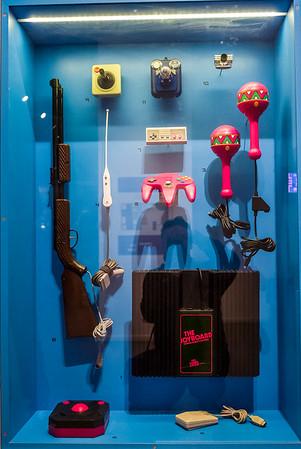 NES accessories in Computerspielemuseum, Berlin