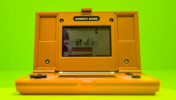 Donkey Kong Game Watch in Computerspielemuseum, Berlin