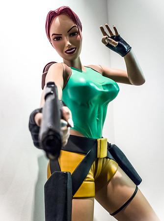 Classic Lara Croft in Computerspielemuseum, Berlin