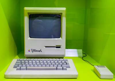 Apple Macintosh in Computerspielemuseum, Berlin