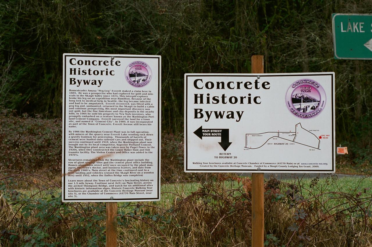 Concrete Historic Byway
