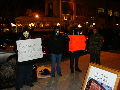 Guy Ffawkes against the Church of Scientology