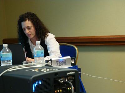sarah-marie taking notes