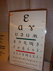 Linguist vision test