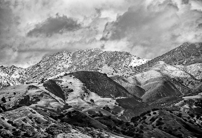 Mount Diablo with Snow