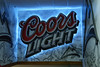 Coors Light Sign