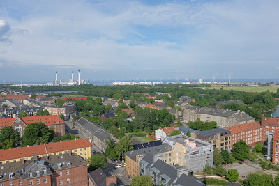 View to Christiania from Vor Frelsers Kirke