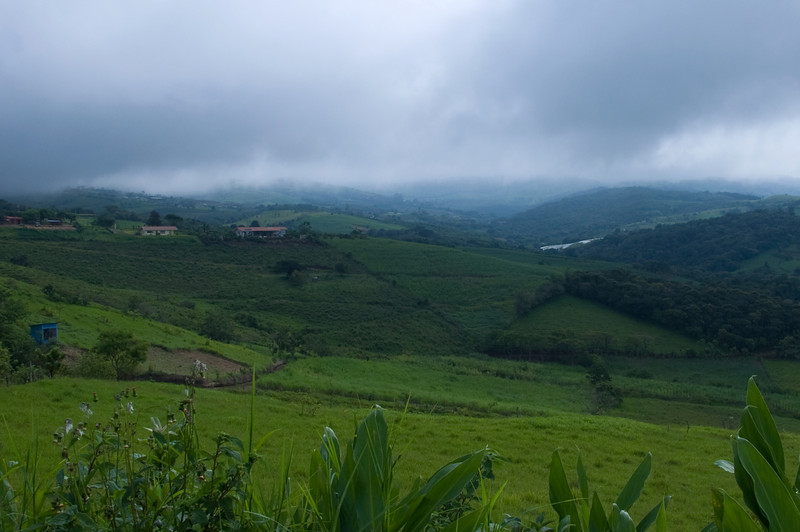 The trip to La Fortuna through the cloud forest