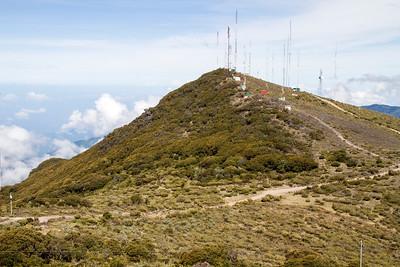 Mountain scenery, Cerro de la Muerte, Costa Rica 29 April 2011