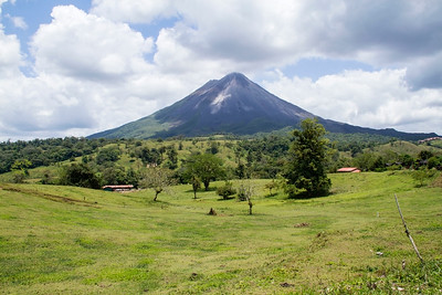 Arenal volcano, Arenal, Costa Rica 22 April 2011