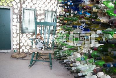 Glass bottle house - pei