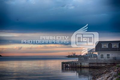 Cheticamp Harbor Sunset