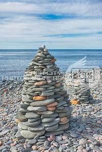 Cape Breton rock pile