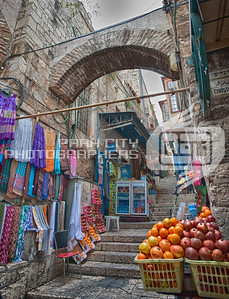 Market in the Old City