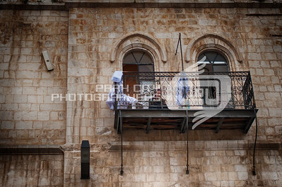 Catching up on reading - inside the Old City