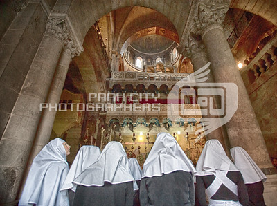 Looking for answers- Church of the Holy Sepulcher