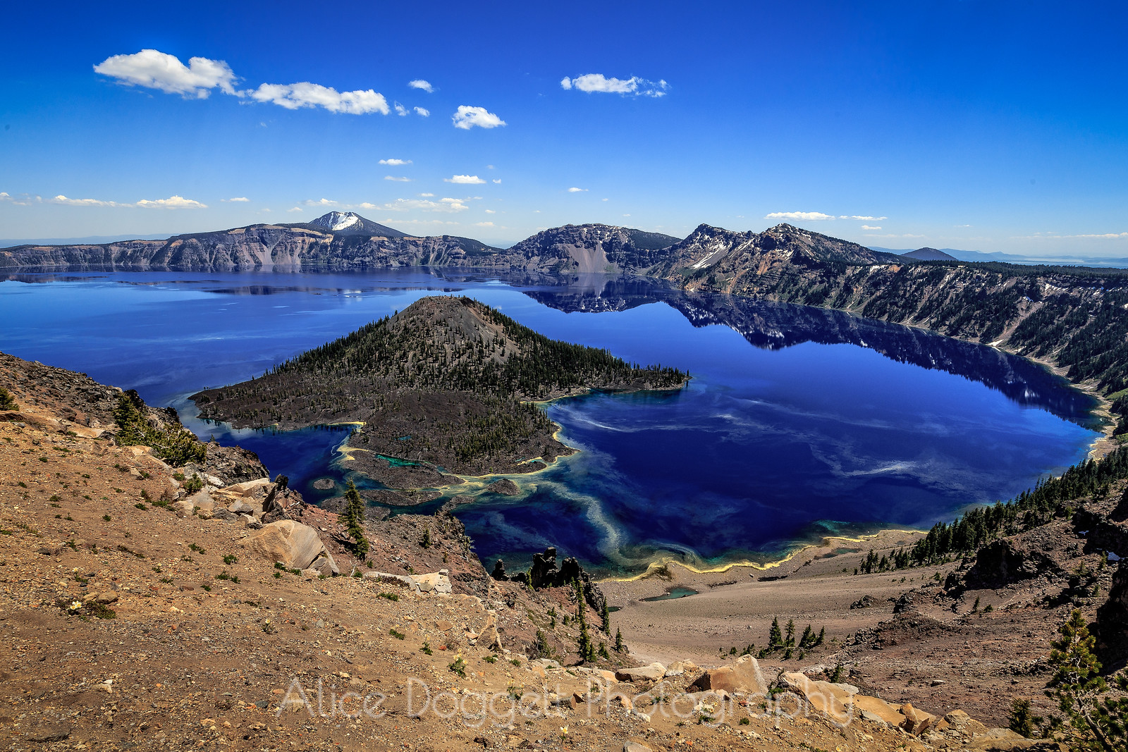 The Beauty of Crater Lake, Crater Lake National Park, Oregon