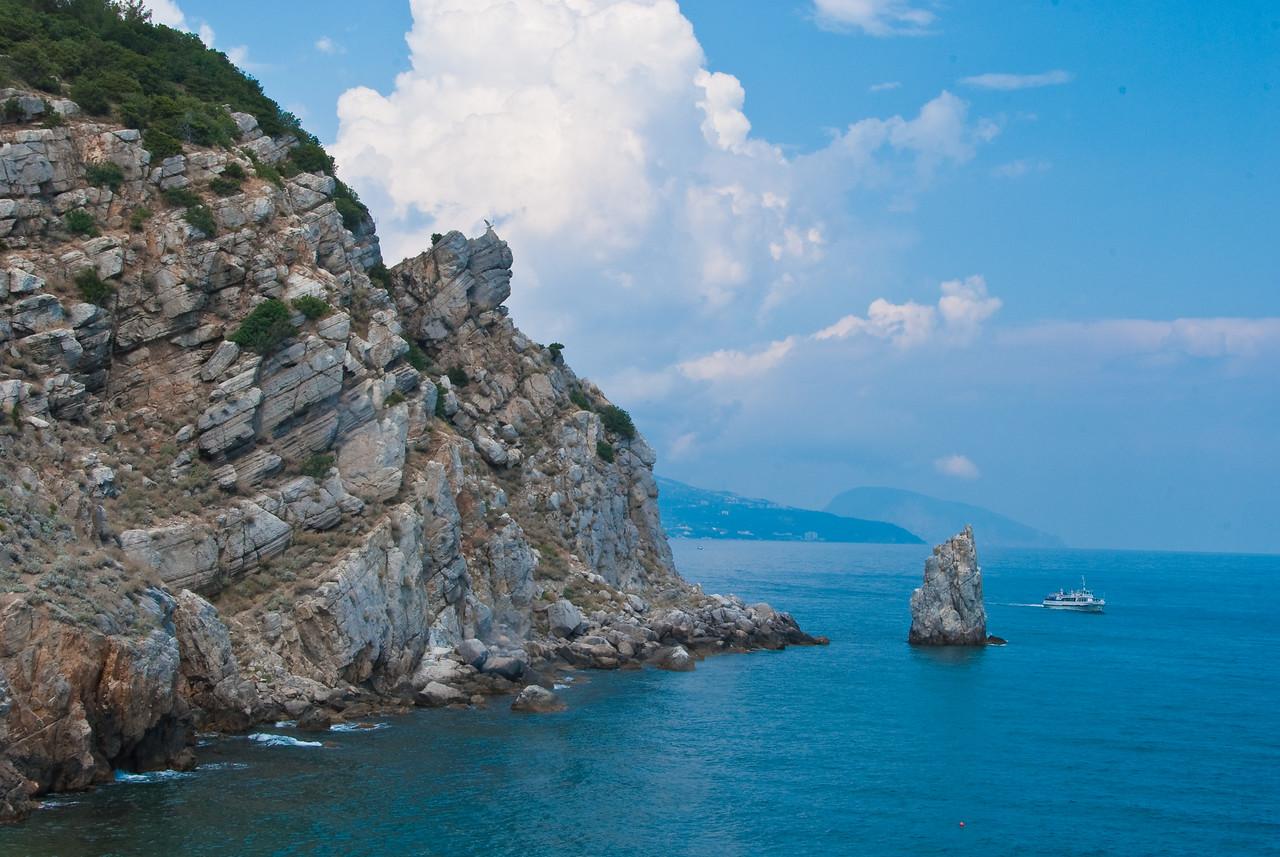 Black Sea near Swallow's Nest