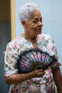 Woman with Fan - 2