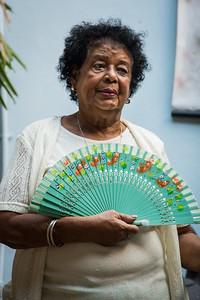 Woman with Fan - 1