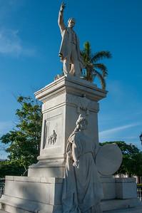 Jose Marti Statue - Cienfuegos