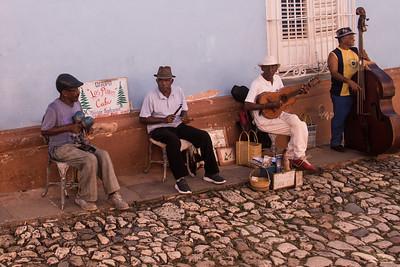 Street Musicians in Trinidad