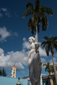 Statue in Trinidad