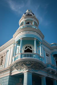 Blue Cupola of the Palacio Ferrer- Cienfuegos