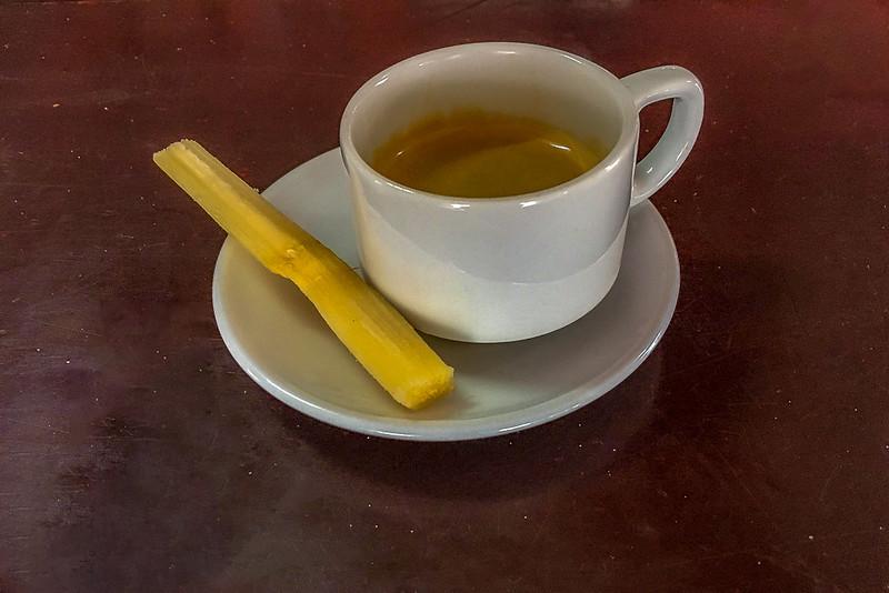 Sugar(cane) with your espresso?
