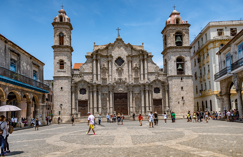 Cathedral de San Cristobal - Old Havana