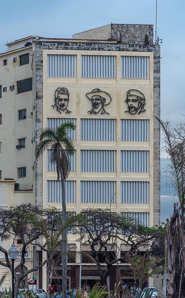 Jose Martin, Camilo Cienfuegos and Che Guevara