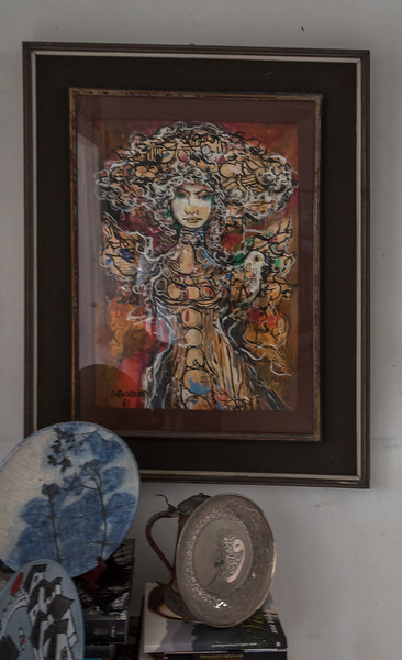Art Inside Nisia's home
