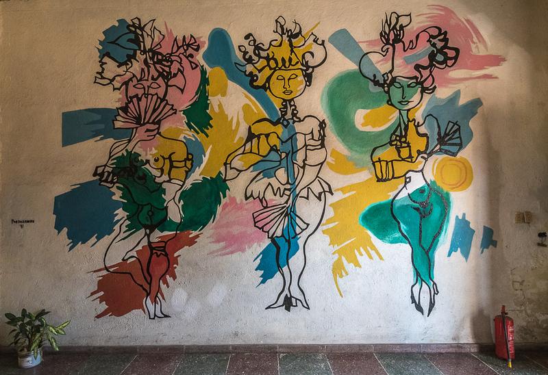 Building Lobby wall art
