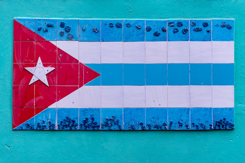 Cuban Flag - Wall Mural
