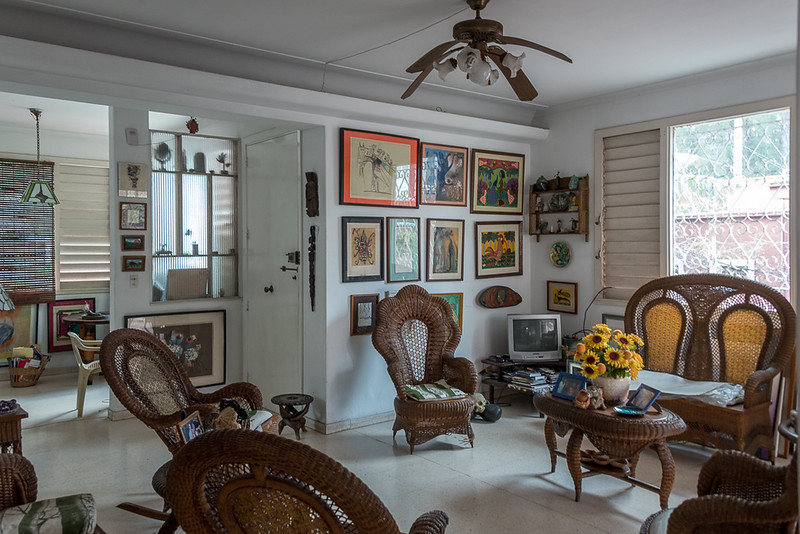 Art Inside Nisia's home.