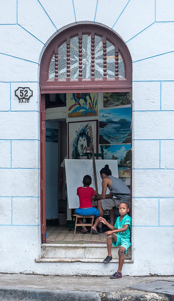 Art lessons - Havana Cuba