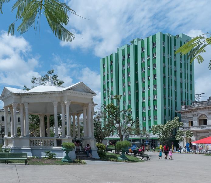 'Santa Clara Libre' Hotel in the Leoncio Vidal Park