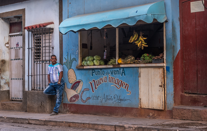 """New Image""  A Private Enterprise Bodega, Trinidad Cuba"