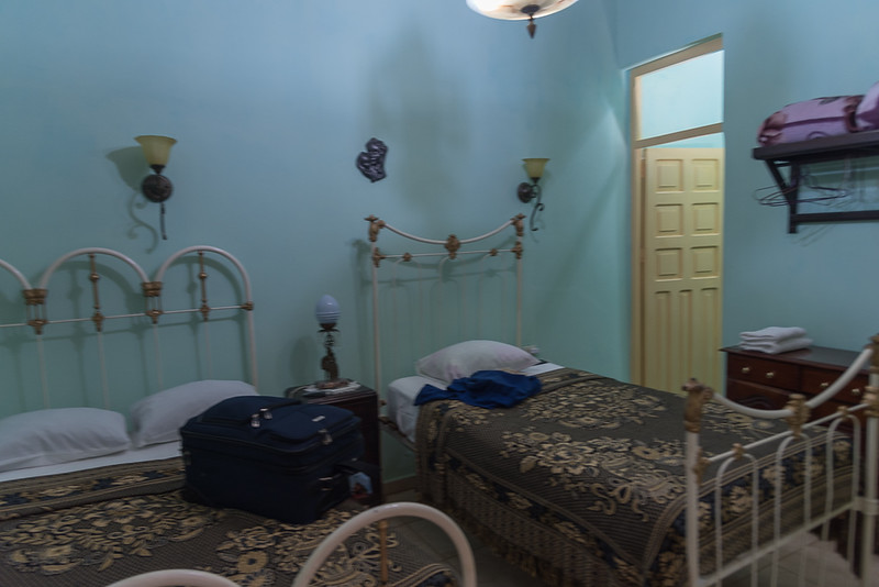 My Accommodations - Trinidad Cuba